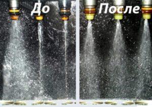 промывка и чистка форсунок